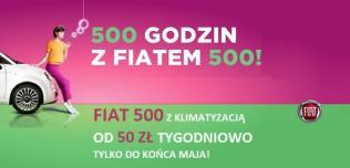 Fiat 500 promocja
