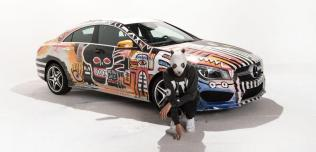 Mercedes CLA Art Car