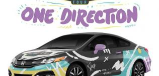 Honda Civic Coupe One Direction