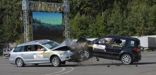 Skoda Superb Combi i Yeti crash test