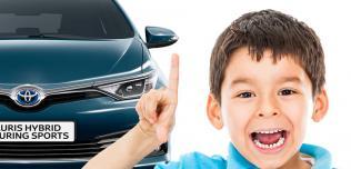 Toyota dziecko