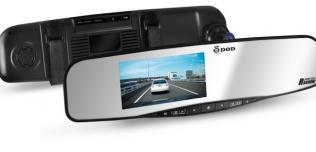 Wideo-rejestrator z lustrem RX400W