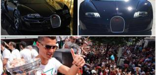 Cristiano Ronaldo Bugatti Veyron