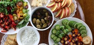 warzywa i owoce w posiłkach