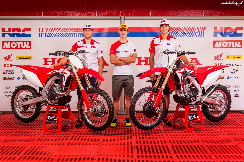 Honda CRF450R i CRF450RX 2017
