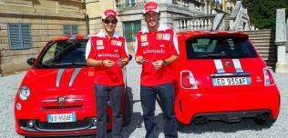 Abarth 695 Tributo Ferrari - F. Alonso i F. Massa