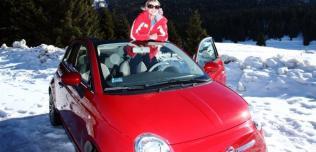 Marysia Sadowska i Fiat 500C