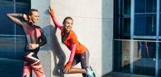 Fitness Jesień kolekcje adidas nike