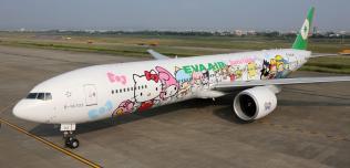 Hello Kitty Samolot