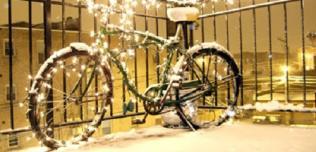 Świąteczny rower
