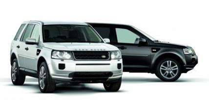Land Rover Freelander Black&White