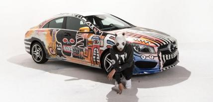 Mercedes CLA Art Car