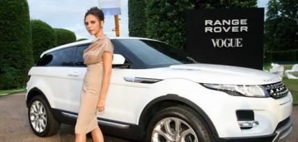 Victoria Beckham dla Range Rovera