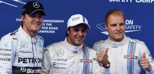 GP Austrii - kwalifikacje: Massa na pole position