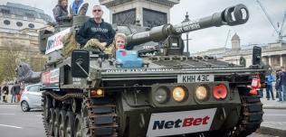 zwiedzanie Londynu czołgiem