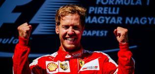 GP Węgier - wyścig: Vettel wygrywa emocjonujący wyścig na torze Hungaroring