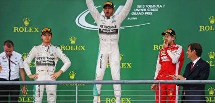 Hamilton wygrywa wyścig o Grand Prix USA