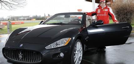Fernando Alonso i Maserati GranCabrio