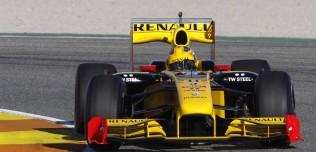 Testy F1 - tor Valencia