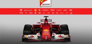Bolid Ferrari 2015