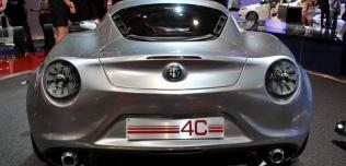 Alfa Romeo 4C Concept - Frankfurt 2011