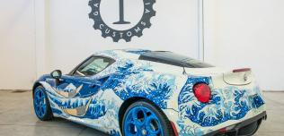 Alfa Romeo 4C wystawa