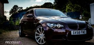 BMW M3 Black Rose