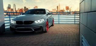 BMW M4 Vossen Wheels