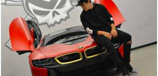 Austin Mahone BMW i8
