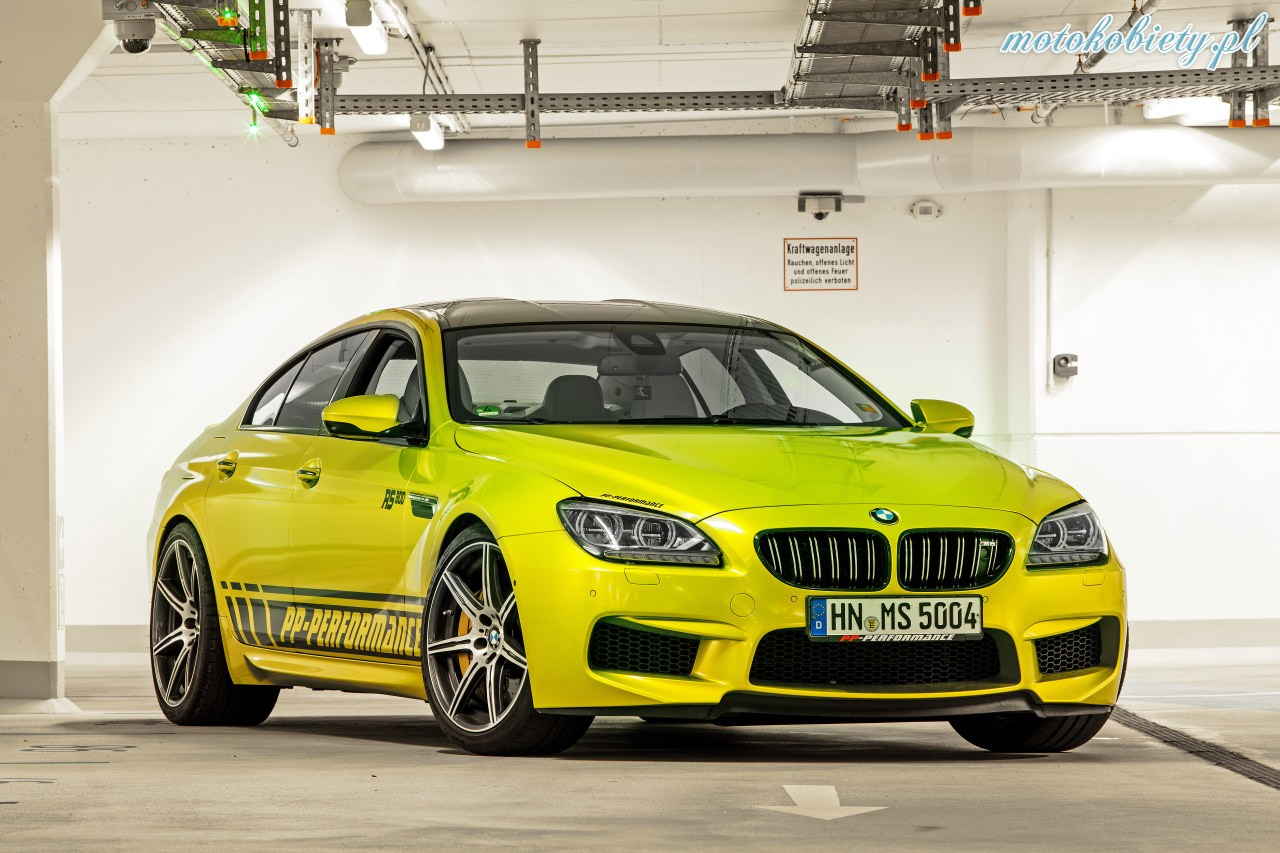 BMW M6 Gran Coupe PP Performance