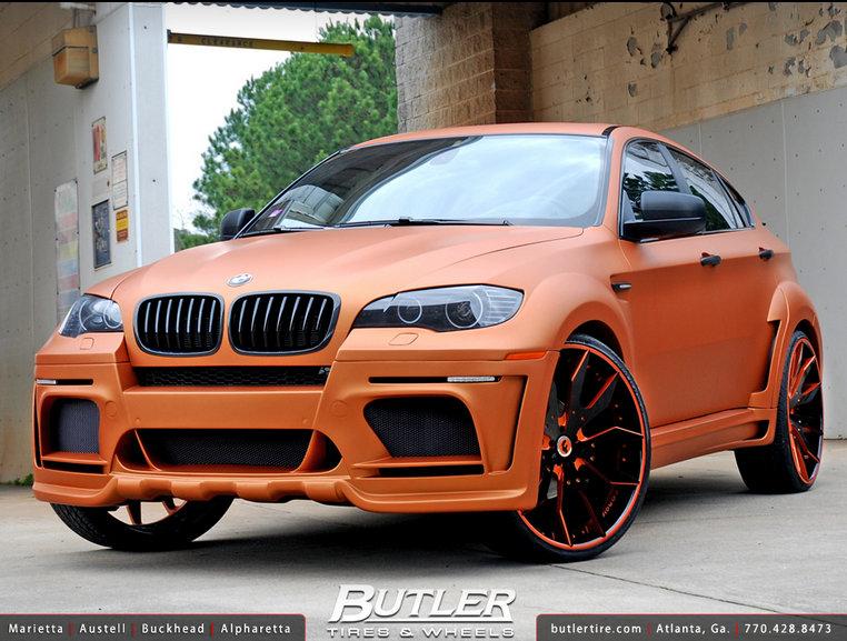 BMW X6 Hamman Widebody Butler Tire
