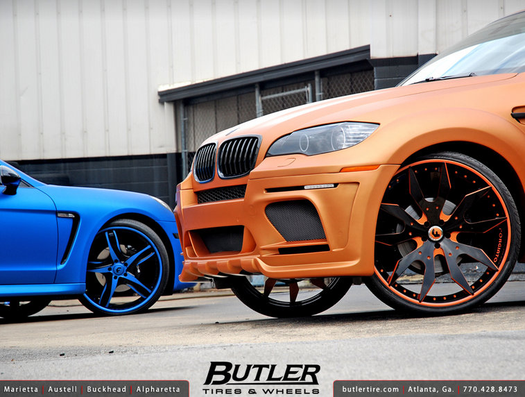 BMW X6 Hamman Widebody Butler Tire