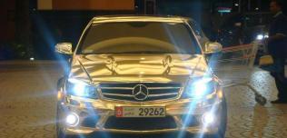 Mercedes Złoty