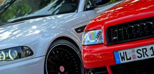 BMW M3 Audi S4