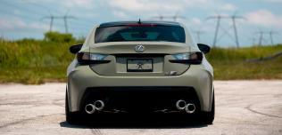 Lexus RC F Vossen