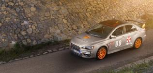 Mitsubishi Lancer Evo X Schwaben Folia