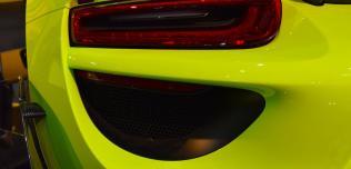 Acid Green Porsche 918