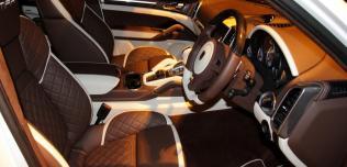 Porsche Cayenne GTS White Venom