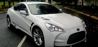 Hyundai Genesis jako Aston Martin One-77