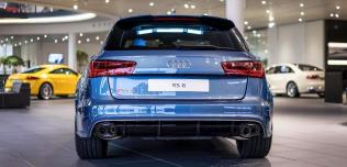 Audi RS6 Performance Polar Blue
