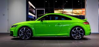 Audi TT RS Lime Green