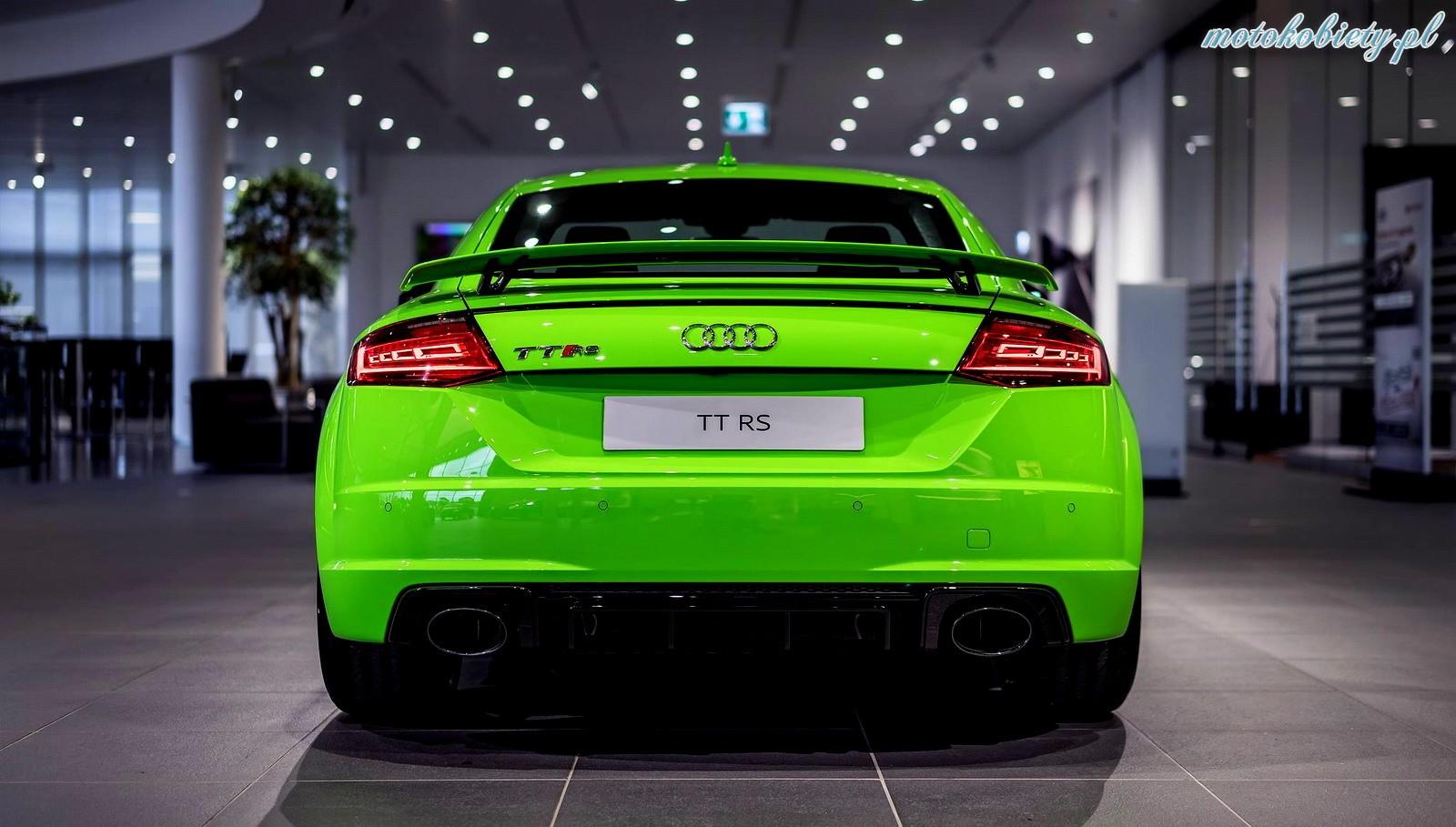 Audi TT RS Lime Green
