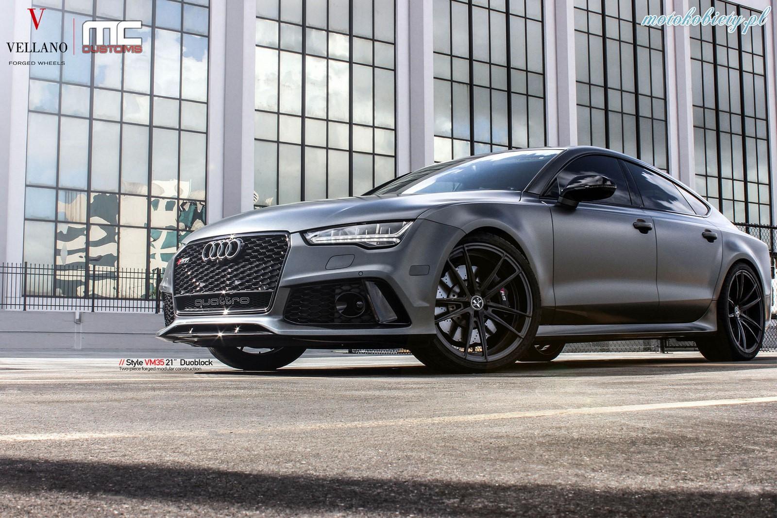 Audi RS7 Vellano Wheels