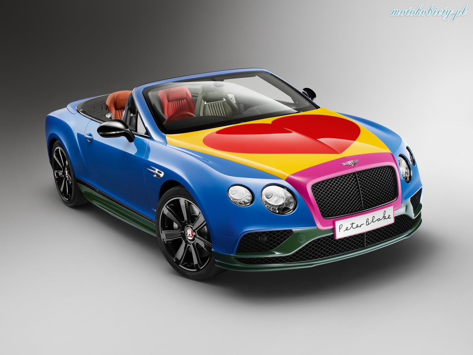 Bentley Continental Peter Blake