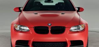 BMW M3 Frozen Red