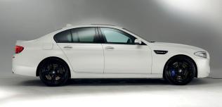 BMW M5 Frozen White