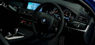 BMW M5 Frozen Blue