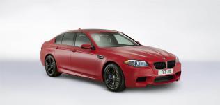 BMW M5 Frozen Red