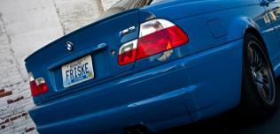 BMW M3 Laguna Seca Blue