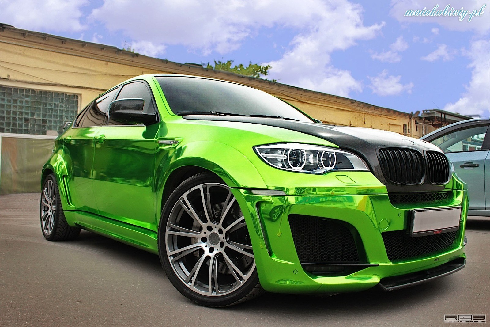 Bmw X6 M Chrome Hulk 17